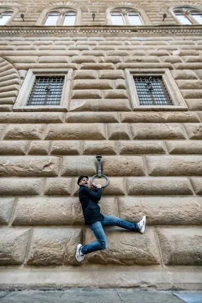JR a Palazzo Strozzi © photo Ela Bialkowska, OKNOstudio - Courtesy Palazzo Strozzi