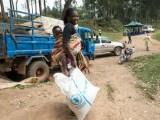 Distribuzione alimentare del PAM a Butembo (Foto: ONU / Martine Perret).