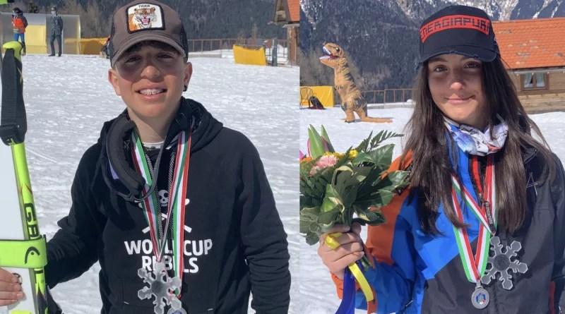 Sciatori campani sul podio dei Campionati Italiani