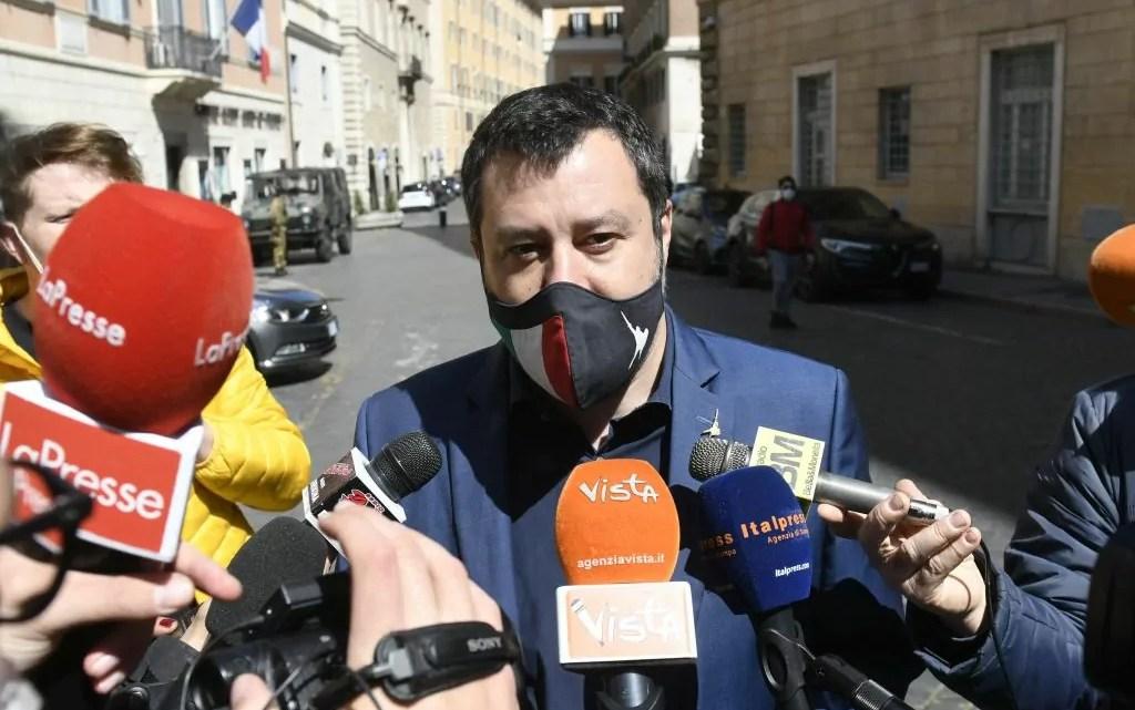 Salvini Catania Italpress