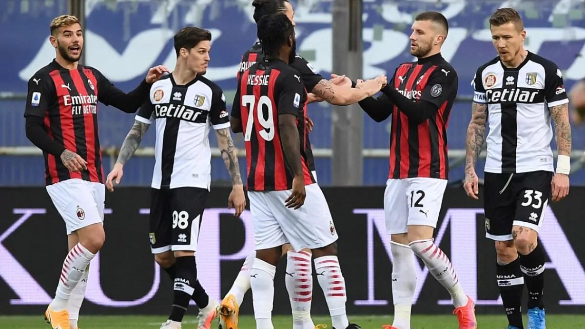 Milan Parma Italpress