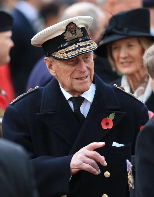 Il Principe Filippo, Duca di Edinburgo, in divisa (copyright www.royal.uk).