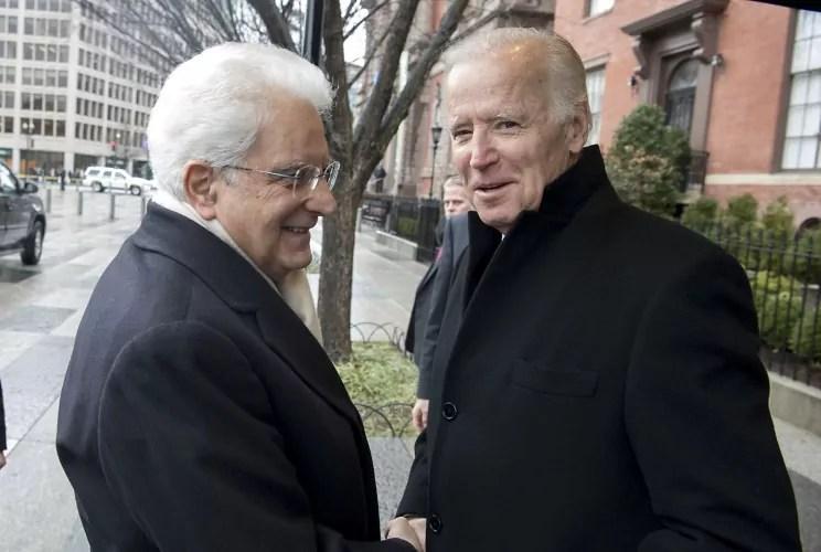 Relazioni Italia Usa, il Presidente della Repubblica Sergio mattarella e il Presidnte degli Stati uniti Joe Biden in una foto d0archivio (Copyright Presidenza della repubblica).