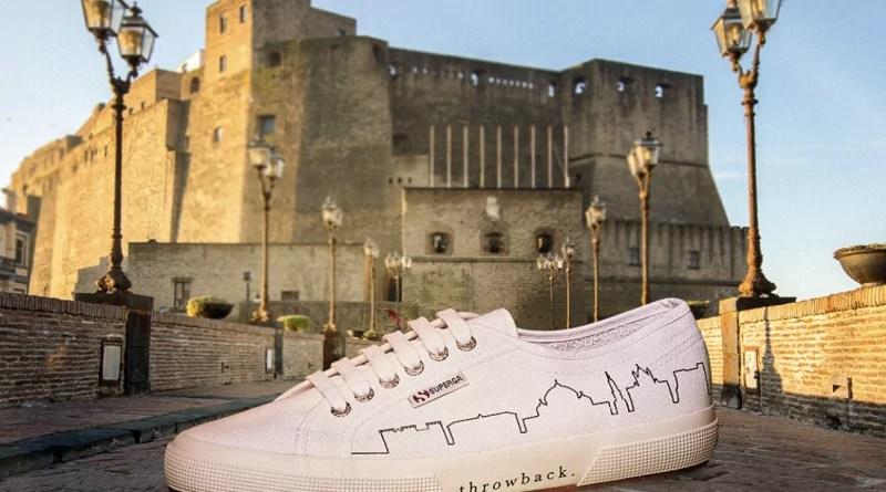 Napoli sulle scarpe superga