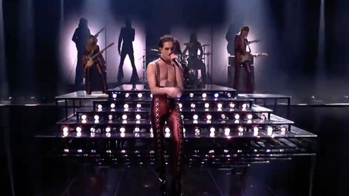 Maneskin Eurovision Italpress