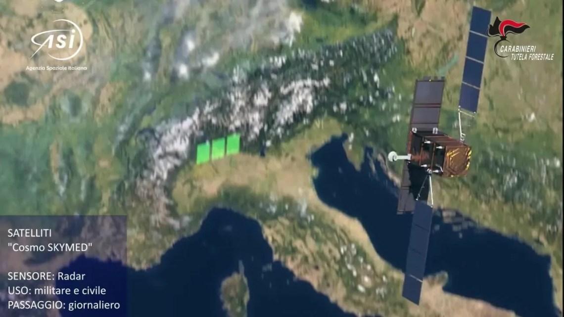 Carabinieri forestali italpress