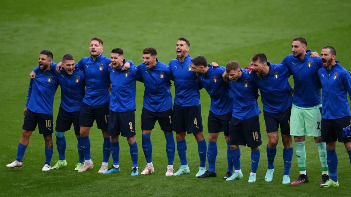 Italia-Spagna: allo stadio Wembley di Londra si gioca la semifinale degli azzurri, contro le temibile furie rosse. (Credit Euro 2020 Official Twitter Account)