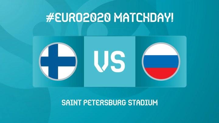 Finlandia-Russia: a San Pietroburgo inizia la seconda giornata di Euro 2020. In campo, i padroni di casa affrontano la favola Finlandia. (credit Euro 2020 Official Twitter Account)