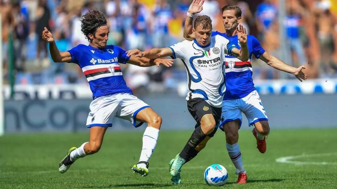 Sampdoria-Inter, 2-2: passo falso di Inzaghi a Genova. Due volte vantaggio per i nerazzurri con Dimarco e Lautaro, ma una grande Samp non molla con la difesa: Yoshida e Augello pareggiano i conti.