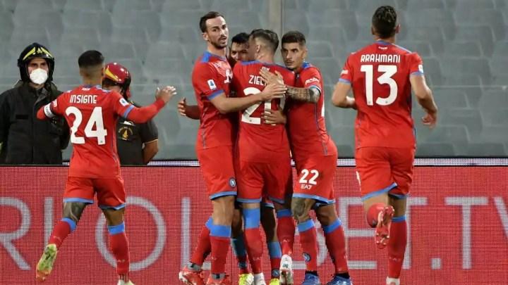 Fiorentina-Napoli, 1-2: vincono gli azzurri, Spalletti non si ferma più. In vantaggio la Viola con Martinez Quarta, poi rimonta campana con Lozano (sbaglia un rigore Insigne) e Rrahmani.