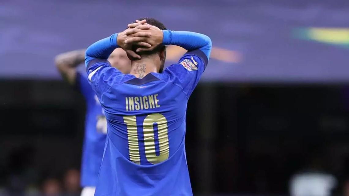 Italia-Spagna, 1-2: perdono gli azzurri di Mancini, nonostante una gara giocata ad alti livelli. Fermo a 37 il record di imbattibilità.