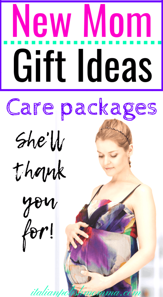 New mom gift ideas and are packages