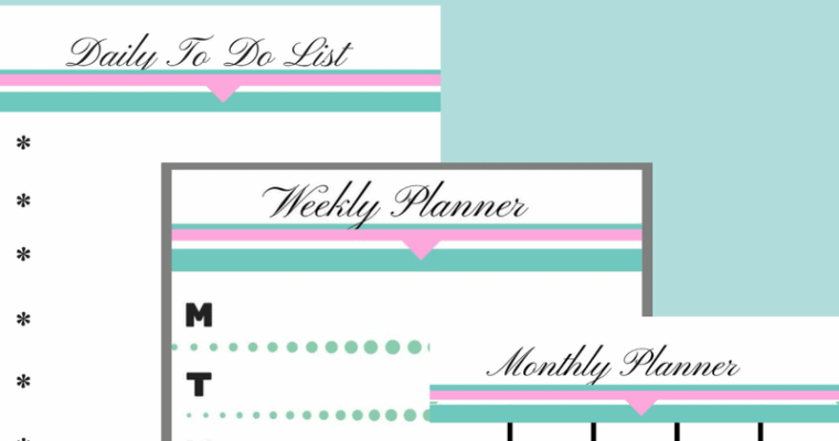 Organize Your Life With Free Printables