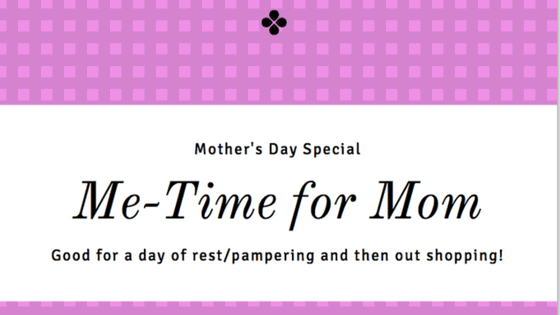 Me-Time For Mom Free Printable coupon