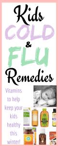 Kids Cold & Flu Remedies