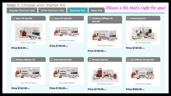 Young Living Starter Kits