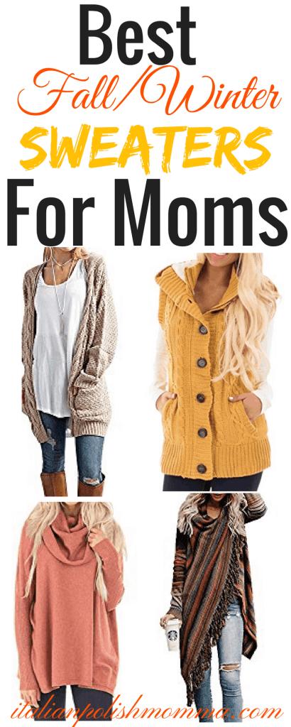 Best Fall Sweaters For Women/moms