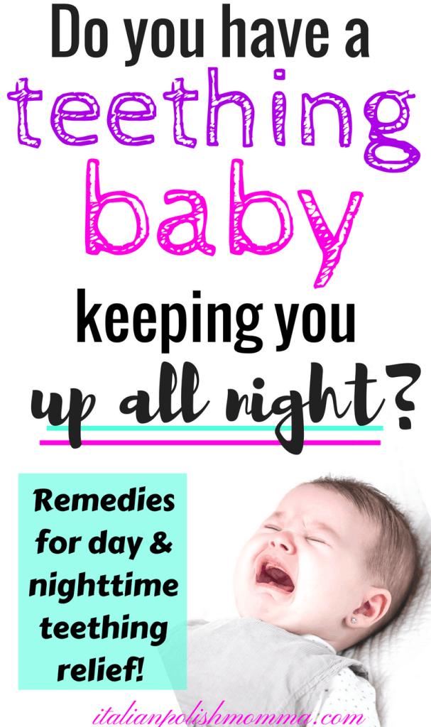 Teething baby remedies