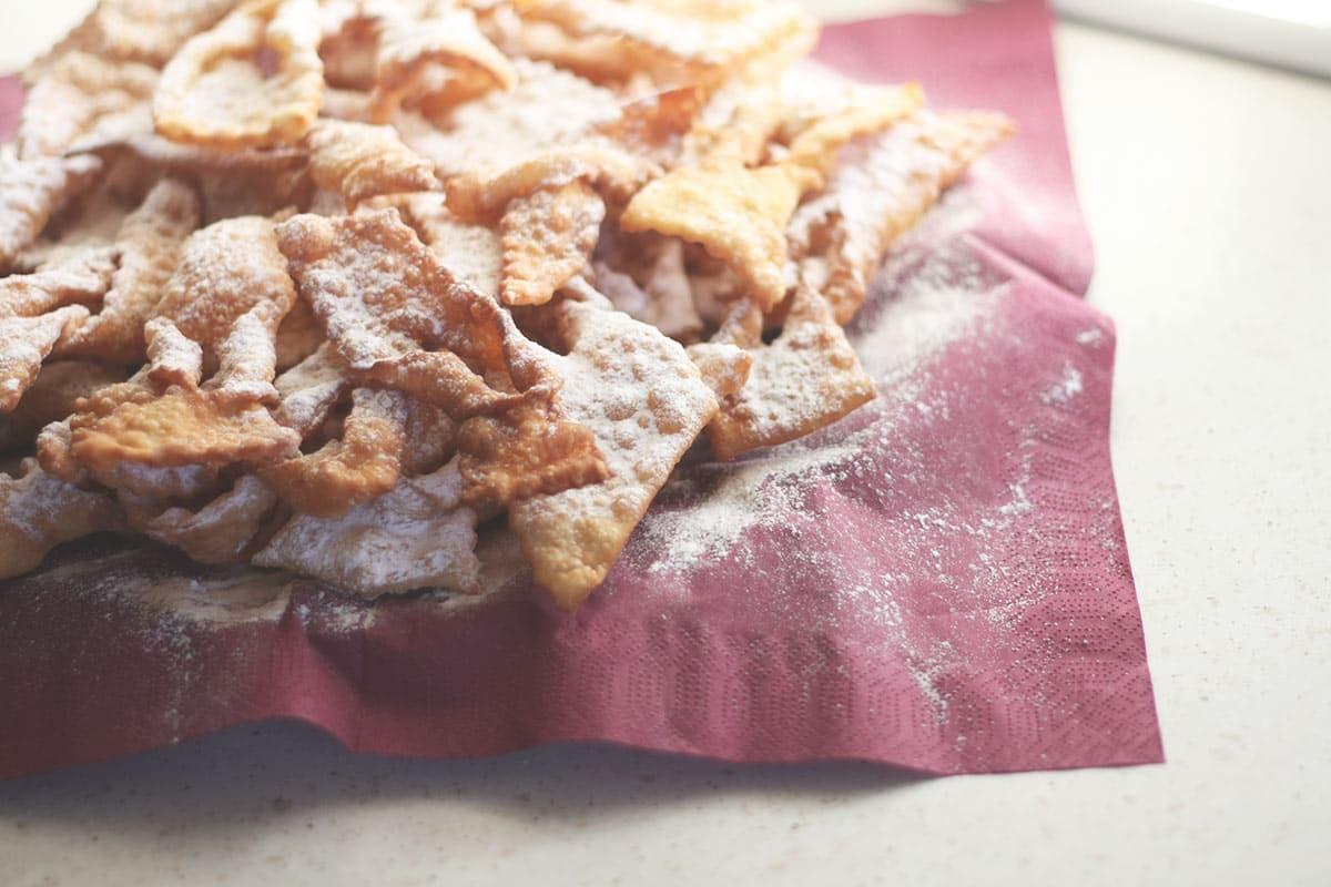 Crostoli (Chiacchiere, Frappe)