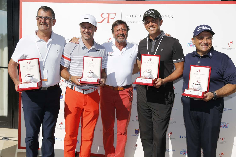 Rocco Forte Open vincitori Pro Am