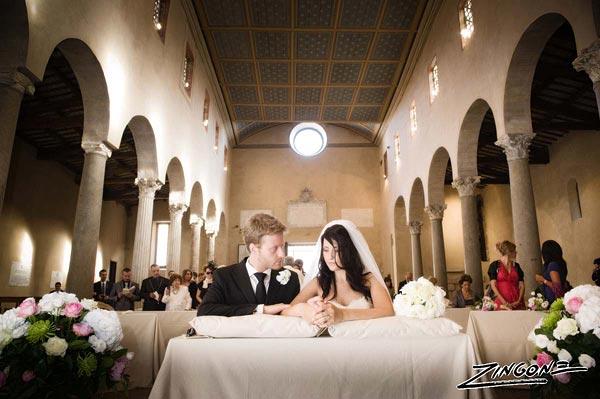 marriage to San Giorgio in Velabro Rome