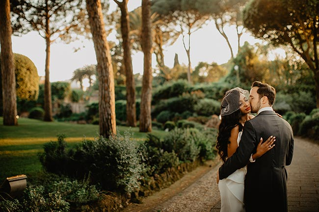Wedding at Villa Aurelia in Rome