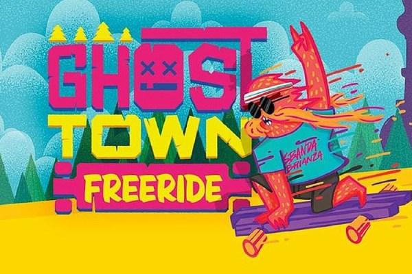 ghost town freeride