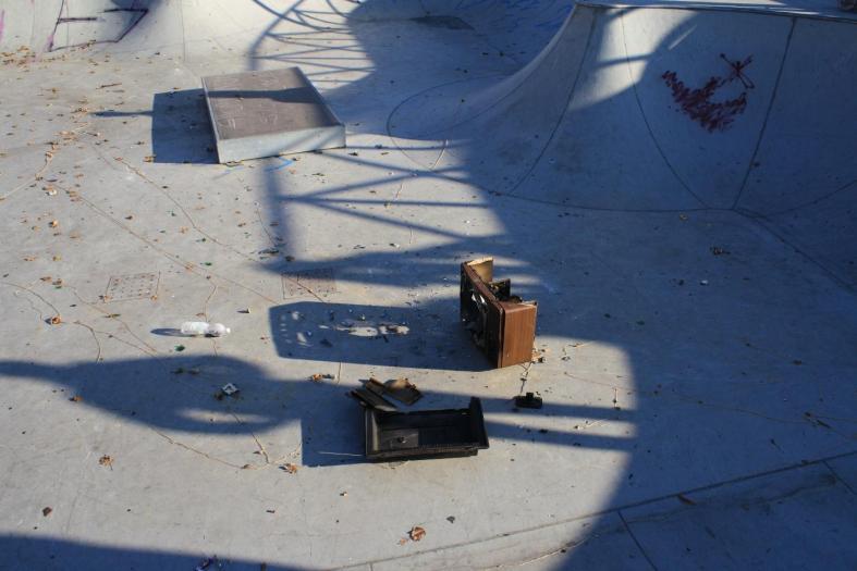 atti vandalici skatepark torino Belze bowl