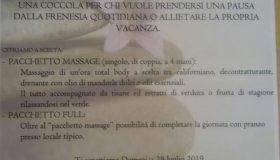 Massaggi open air