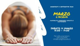 Workshop Restorative Yoga - Acqua