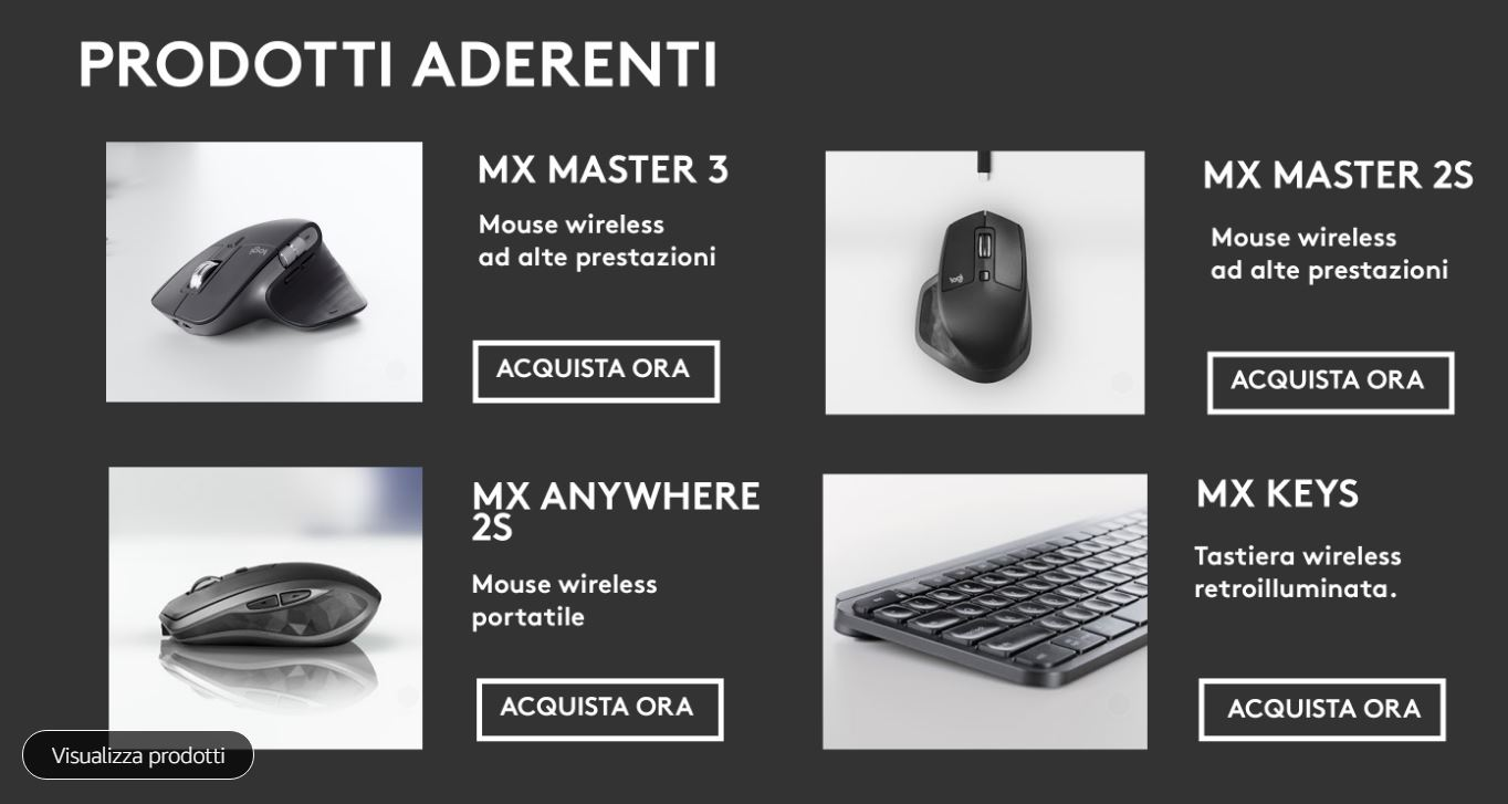 💻 Prodotti Logitech per il tuo desk setup dell'ufficio 🖥️ Logitech office computer products