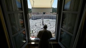 papa francesco san pietro appello