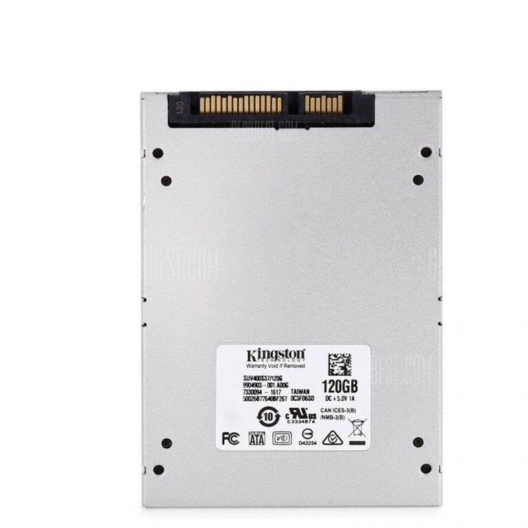 Kingston UV400 120GB, HDD SSD economico a soli 55.07€ -22%! - Italiaunix