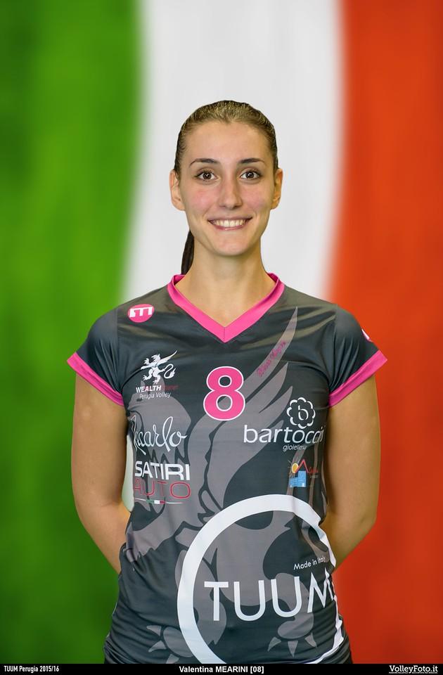 Mearini Valentina TUUM Perugia 2015/16