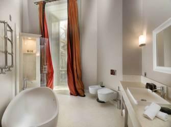 Town House Galleria, hotel de luxe Milan Italie : salle de bain