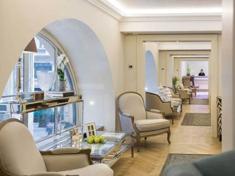 Town House Galleria, hotel de luxe Milan Italie : salon
