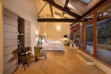 Town House Galleria, hotel de luxe Milan Italie : junior suite terrasse