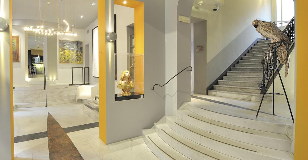 Boston Art Hotel Torino, hotel design (Via Massena, 70, Turin)