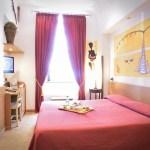 Chambre du Grand Hotel Europa Naples Italie