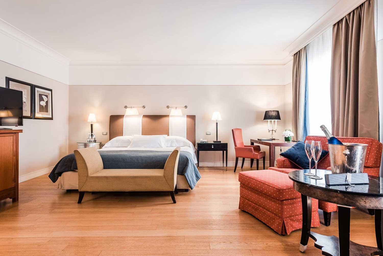 Grand Hôtel de la Minerve, hôtel 5 étoiles Rome Italie : Chambre Deluxe