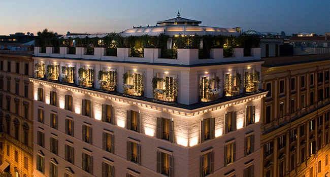 Boutique hotel design rome italie h tel isa for Boutique hotel pouilles