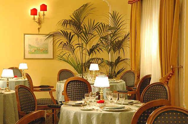 Restaurant Hôtel Napoleon Rome Italie
