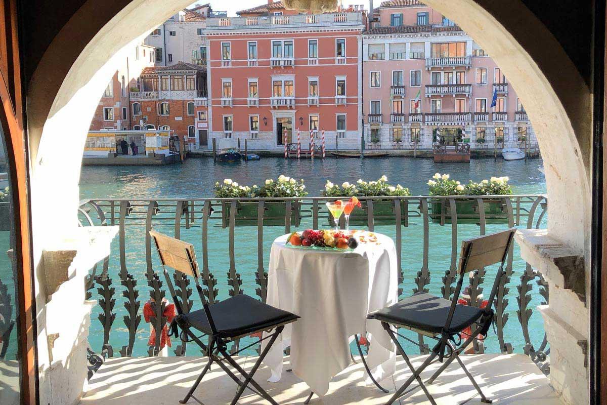 Palazzo Barbarigo hotel de charme avec vue sur le Grand Canal de Venise, Italie