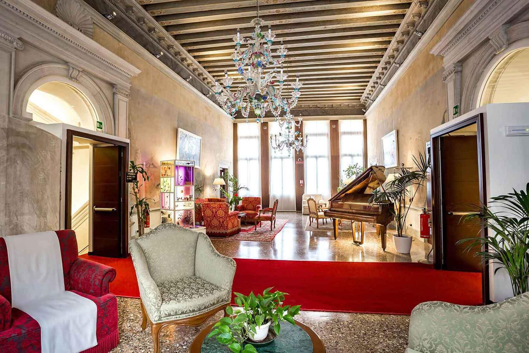 Ruzzini Palace Hotel 4 étoiles Venise (salon)
