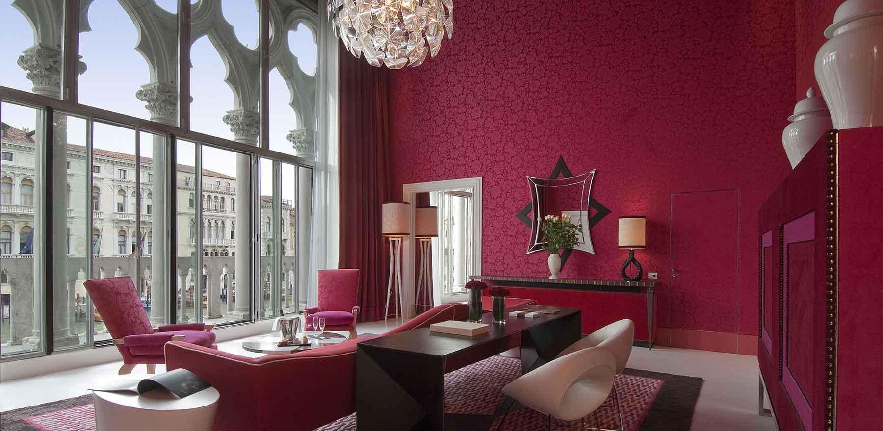 Centurion Palace Venise, Hotel Design : Suite Présidentielle