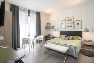 Hotel Bernina Milan, Italie : Chambre supérieure