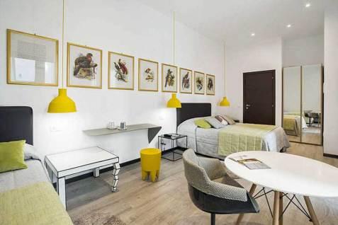 Hotel Bernina Milan, Italie : Chambre