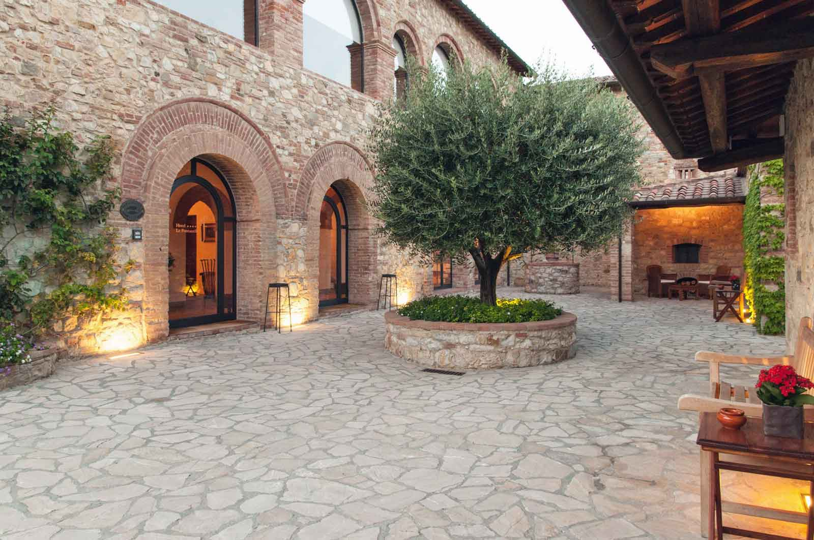 Le Fontanelle, hotel 5 etoiles luxe en Toscane Italie