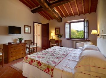 Hotel Le Fontanelle, Pianella - Sienne (Chambre)