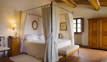 Le Fontanelle, hotel 5 etoiles luxe en Toscane Italie (Chambre Deluxe)